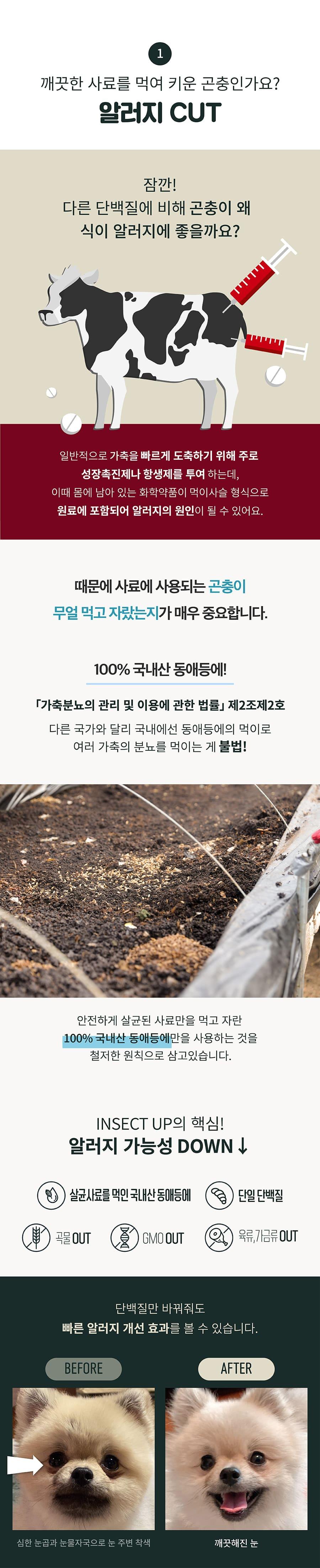 [EVENT] 인섹트업 하이포알러지 사료 (1.2kg)-상품이미지-4